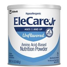 ELECARE JR UNFL 14.1OZ PWD 6CT